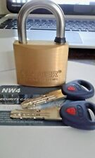 MAUER 185.005 NW4 High Security Padlock.NO MASS PRODUCTION