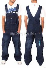 Peviani Mens Women Cargo Combat Harbour Dungarees Time Is Jumpsuit Money
