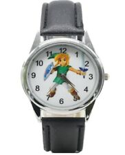 The Legend of Zelda Link Character Genuine Leather Band WRIST WATCH