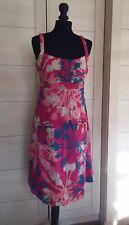 Beautiful White Stuff Size 12 pink summer  Dress BNWT