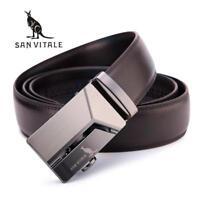 Men's Genuine Leather Belt High Quality New Designer Belts Men Luxury Strap Male