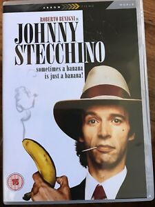 Johnny Stecchino DVD 1991 Italian Cult Movie Classic Comedy w/ Roberto Benigni