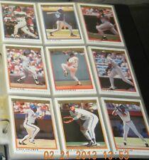 1991 O-Pee-Chee Complete Baseball Card Set In Album