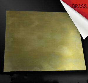 1pcs Brass Metal Sheet Plate 3mm x 200mm x 300 mm #E3-D063 GY