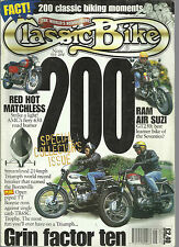 CLASSIC BIKE MAGAZINE SEP 1996 200 SPECIAL COLLECTORS ISSUE MATCHLESS RAM AIR SU