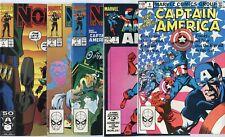 Captain America - X-over & Miniseries Lot of 20 issues  avg. NM 9.4  Marvel 1982
