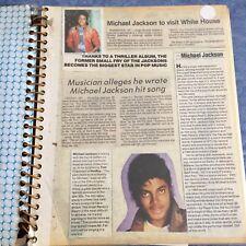 Vintage Michael Jackson Scrapbook Jackson 5 40 Pages!