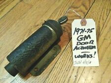 1971-75 GM 2-Door Coupe DRIVER SIDE Power Lock Actuator Solenoid  WORKS!
