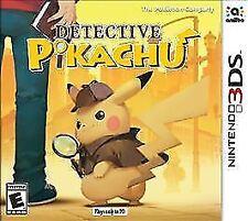 Detective Pikachu (Nintendo 3DS, 2018) Brand New!