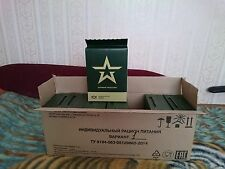 7 set Military Russian Army Food  Ration Daily Pack Mre Emergency Rations