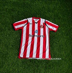 SUNDERLAND 2008 2009 HOME FOOTBALL SOCCER SHIRT JERSEY TRIKOT UMBRO MEN L