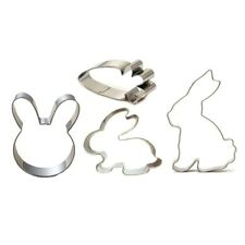 Rabbit Cookie Cutter Carrot Easter Bunny Cake Biscuits Sandwich Cutter Pastry