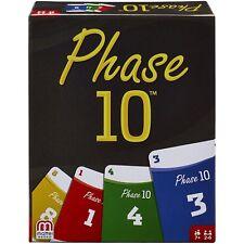 Mattel 1837 - Kartenspiel - Phase 10