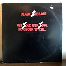 We Sold Our Soul For Rock n Roll Black Sabbath 1976 Vinyl WB Records 1st Press