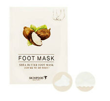 SKINFOOD NEW Shea Butter Foot Mask (8mlx2) 1sheet - Korea Cosmetic