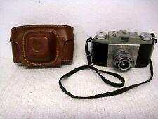 Vintage Kodak Pony 135 Model B 35mm Film Camera w/Original Kodak Case & Manual