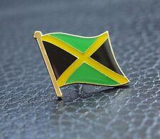 JAMAICA Jamaican Metal Flag Lapel Pin Badge BRAND NEW