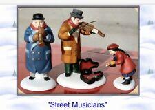 "Dept 56 Cic ""Street Musicians� 5564-6 Mib"