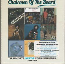 Chairman Of The Board Complete Invictus Studio Recordings 9 Cd's Box Set Sealed