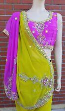 designer Indian Pakistani bollywood party wedding bridal sari stitched blouse
