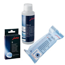 NEW Jura Cleaning Kit Claris Blue Filter Cleaning Tablets and Milk Cleaner