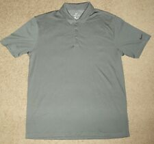 Mens Medium M Nike Collared Polo Uniform Golf Club Casual Athletic Sports Shirt