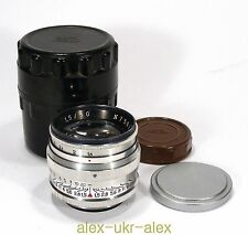 Russian Jupiter-3 1,5/50 mm lens M39 Zorki Leica M39 mount. Excellent.№7501496