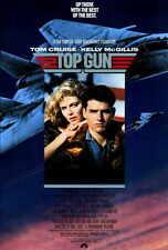 TOP GUN Movie POSTER PRINT 27x40 Tom Cruise Kelly McGillis Val Kilmer