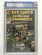 Sgt Fury 60 Cgc 9.0 Old Label