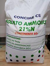 Solfato ammonico kg 25 concime fertilizzante orto frutteto  BIANCO CRISTALLINO
