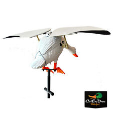 NEW LUCKY DUCK FLAPPER SNOW GOOSE FLAPPING WING MOTION DECOY REMOTE READY