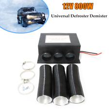 1×Car Universal 12V 800W Windscreen Heater Fan  Defroster Demister Winter Warmer