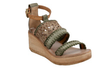 A.S.98 Nealie Militaire/Rino (Moss) Wedge Sandal Women's sizes 36-41/NEW!!!