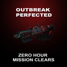 Destiny 2 Outbreak Perfected/ Zero Hour Clears [PC]