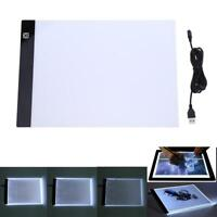 A4 LED Table à Dessin Planche Tablette Lumineuse Dimmable Artiste Copie Pochoir