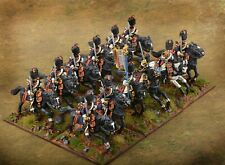 French Grenadiers of the Guard Heavy Cavalry,  Painted 28mm Metal