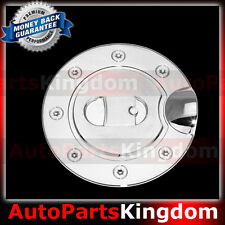 04-08 FORD F150 F-150 Triple Chrome Plated ABS Gas Tank Fuel Door Cover