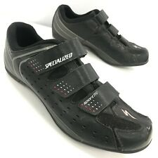 Specialized Sport TR Road Cycling Shoes UK 9 Body Geometry Black SPD Mens 291697