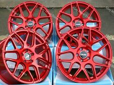 "Alloy Wheels 18"" CR1 For Audi A4 A6 A8 TT RS Coupe Roadster Q2 Q3 Q5 5x112 Red"