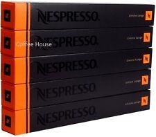 50 New original Nespresso Linizio Lungo flavour coffee Capsules Pods UK