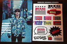 BIG BANG Lawson Made Tour in Japan 2015 D-LITE Daesung File Sticker Bigbang Kpop