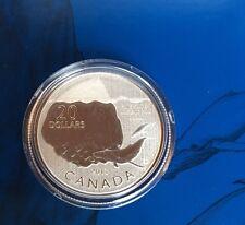 .28 oz 2013 Canada .9999 Fine Silver $20 Iceberg Coin in CAPSULE, w/ CERTIFICATE