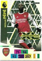 PANINI ADRENALYN XL PREMIER LEAGUE 2020/21 NICOLAS PEPE LIMITED EDITION