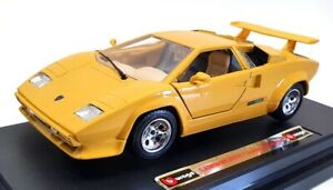 Burago 1/24 Scale 0537 - 1988 Lamborghini Countach 5000 Quattrovalvole