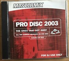 Mastermix Pro Disc 2003