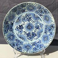 Large Deep Sunburst Plate Porcelain Jiaqing (1796-1820) China Qing Dynasty