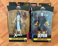 Hasbro Marvel Legends X-men Mystique Walgreens Exclusive & Morph