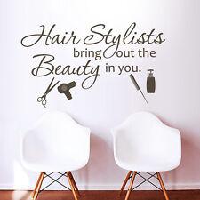 Inspiration Art Wall Decal Hair Salon Stylists The Beauty Quote Vinyl Shop Decor