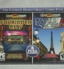 "The Ultimate Hidden Object Como Pack ""FORBIDDEN CITY & PARIS SECRETS"""