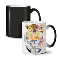 Geometry Tiger Animal NEW Colour Changing Tea Coffee Mug 11 oz | Wellcoda